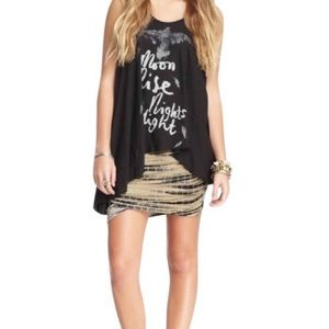 Free People Tie Dye Skirt
